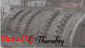 Thrift Thursday - Cheap books with The Scarlet Siren