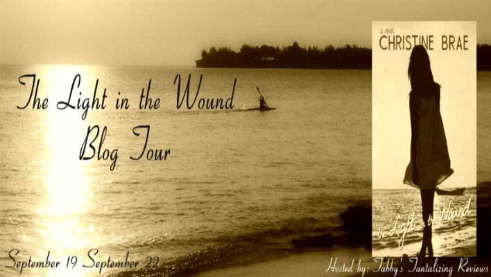 {BLOG TOUR} The Light in The Wound by Christine Brae