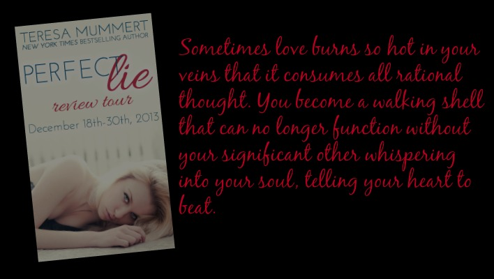{BLOG TOUR} Perfect Lie by Teresa Mummert