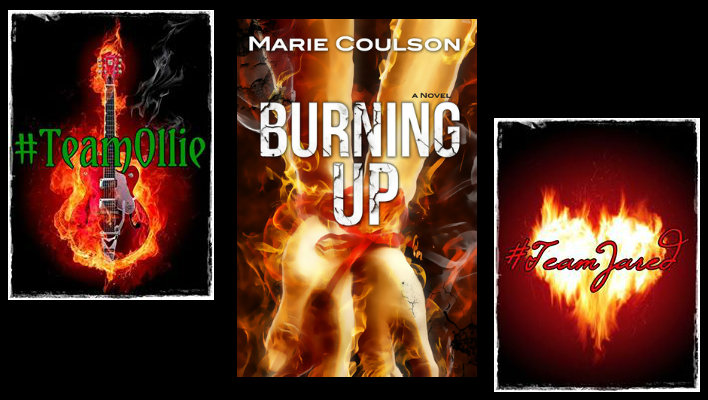{BLOG TOUR} Burning Up by Marie Coulson