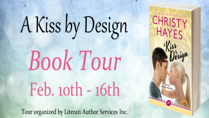 {BLOG TOUR} A Kiss By Design by Christy Hayes + Giveaway!