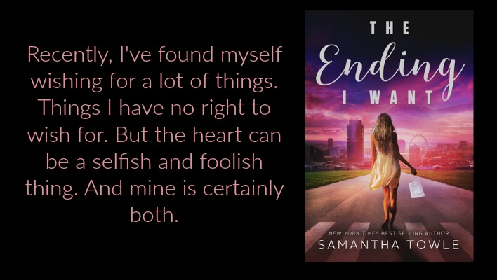 {REVIEW} The Ending I Want by Samantha Towle