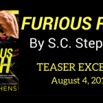 Read an excerpt of Furious Rush by S.C. Stephens!