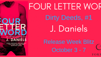{New Release!} Four Letter Word by J. Daniels