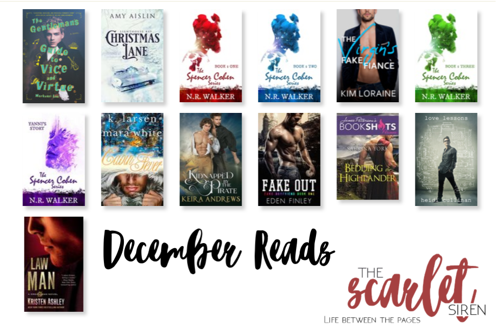 December Reads The Scarlet Siren