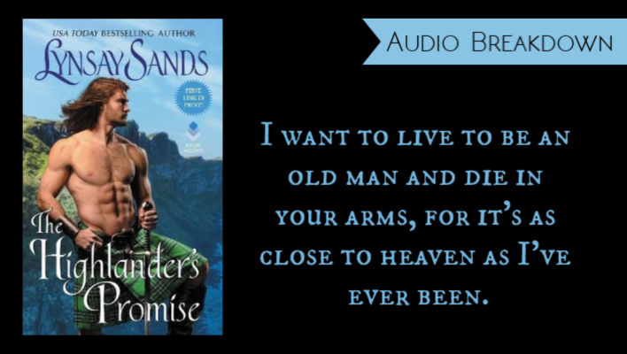 REVIEW // The Highlander's Promise by Lynsay Sands